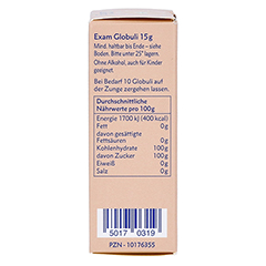 BACH KOMBINATION Exam Globuli Healing Herbs 15 Gramm - Linke Seite