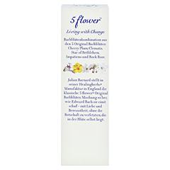 BACH KOMBINATION 5 Flow.Notfalltropf.Healing Herbs + gratis 5Flower Creme 15g 30 Milliliter - Rückseite