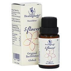 BACH KOMBINATION 5 Flow.Notfall Globuli Heal.Herbs 15 Gramm