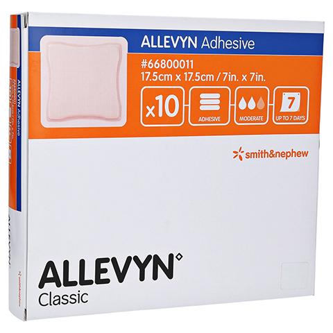 ALLEVYN Adhesive 17,5x17,5 cm haftende Wundauflage 10 Stück