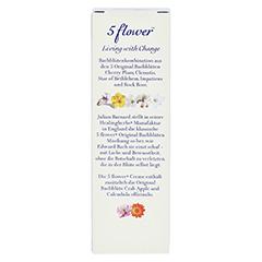 BACH KOMBINATION 5 Flow.Notfallcreme Heal.Herbs 30 Gramm - Rückseite