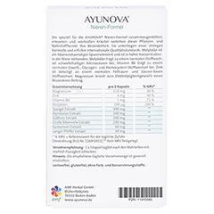 AYUNOVA Nieren-Formel Kapseln 60 Stück - Rückseite