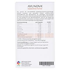 AYUNOVA Gedächtnis-Formel Kapseln 60 Stück - Rückseite