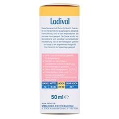 LADIVAL empfindliche Haut Creme LSF 50 50 Milliliter - Rechte Seite
