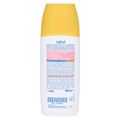 LADIVAL empfindliche Haut Spray LSF 50+ 150 Milliliter - Rückseite