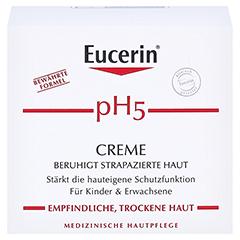 EUCERIN pH5 Creme empfindliche Haut 75 Milliliter - Vorderseite