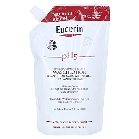 EUCERIN pH5 Waschlotion Nachfüll empfindliche Haut 750 Milliliter