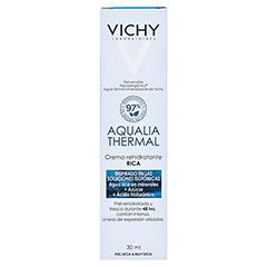Vichy Aqualia Thermal Feuchtigkeitspflege reichhaltig 30 Milliliter - Rückseite