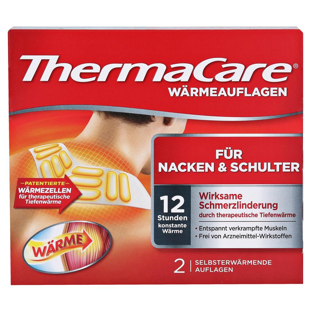 Thermacare Wärmeumschläge Für Nacken Und Schulter 2 Stück