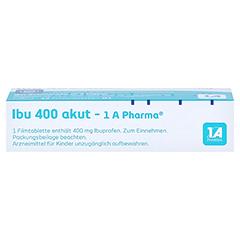 Ibu 400 akut-1A Pharma 10 Stück N1 - Unterseite
