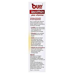 BUER LECITHIN Plus Vitamine flüssig 500 Milliliter - Rechte Seite