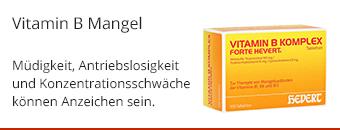 Vitamin B Mangel Themenshop