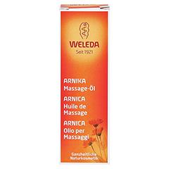 WELEDA Arnika Massageöl 10 Milliliter - Vorderseite