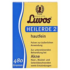 LUVOS Heilerde 2 hautfein 480 Gramm - Vorderseite