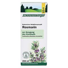 ROSMARIN HEILPFLANZENSÄFTE Schoenenberger 200 Milliliter - Vorderseite