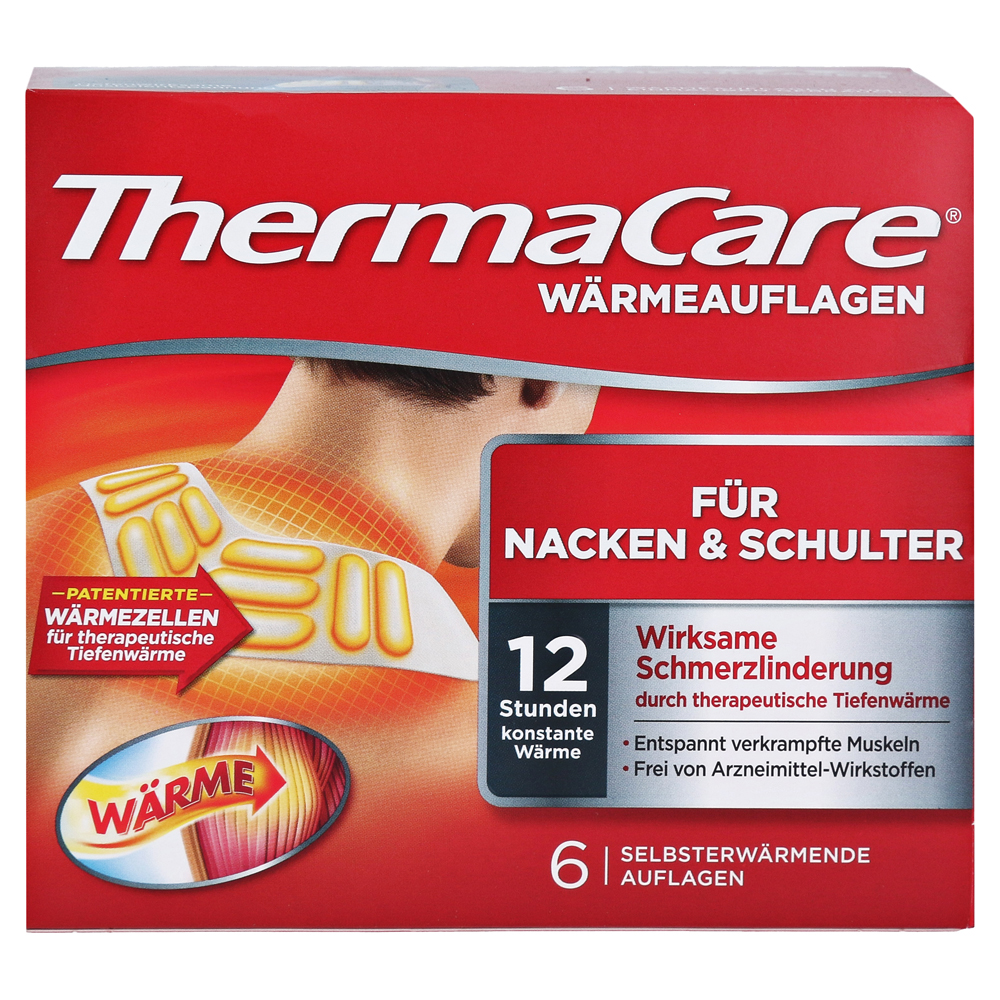 thermacare rückenpflaster
