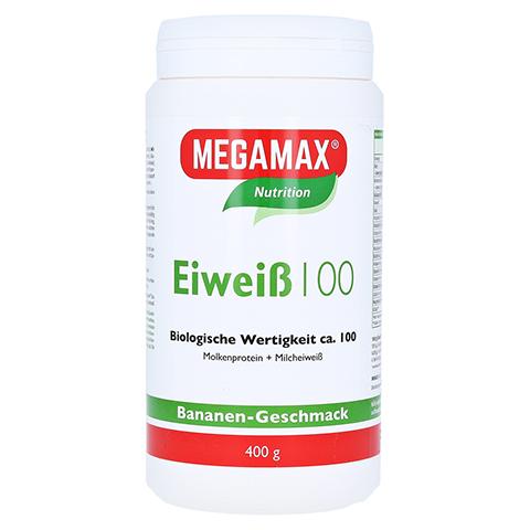 EIWEISS 100 Banane Megamax Pulver 400 Gramm