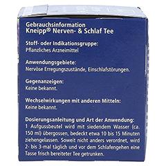 Kneipp Nerven- und Schlaf-Tee 10 Stück - Rechte Seite
