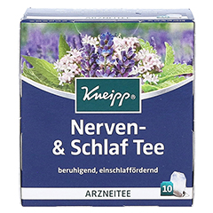 Kneipp Nerven- und Schlaf-Tee 10 Stück - Vorderseite