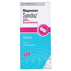 Magnesium-Sandoz 243mg 40 Stück - Vorderseite