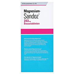 Magnesium-Sandoz 243mg 40 Stück - Rückseite