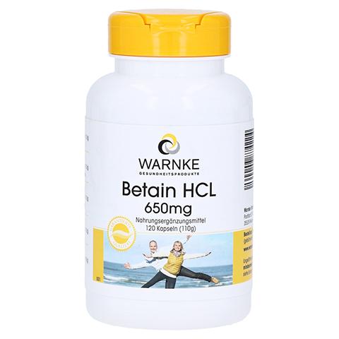 Betain HCL 650 mg Kapseln 120 Stück