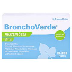 Bronchoverde Hustenlöser 50mg 20 Stück N1 - Vorderseite