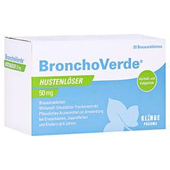 Bronchoverde Hustenlöser 50mg 20 Stück N1