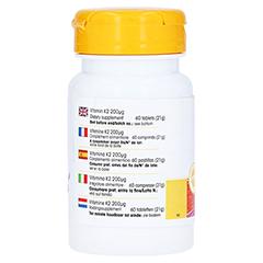 Vitamin K2 200 µg Tabletten 60 Stück - Rechte Seite