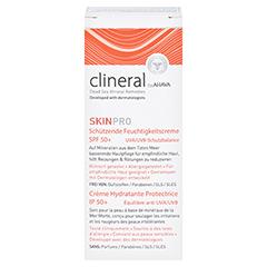 CLINERAL SKINPRO Prot.Moisturizing Cream SPF 50 50 Milliliter - Vorderseite