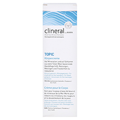 CLINERAL TOPIC Body Cream 200 Milliliter - Vorderseite