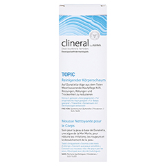 CLINERAL TOPIC Body Cleansing Foam 200 Milliliter - Vorderseite