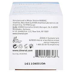 CLINERAL TOPIC Shower & Bath Oil 250 Milliliter - Unterseite