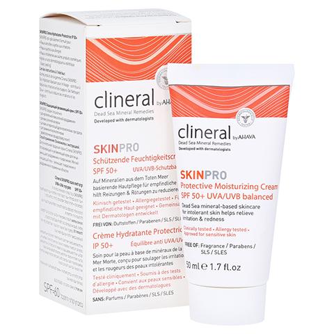 CLINERAL SKINPRO Prot.Moisturizing Cream SPF 50 50 Milliliter