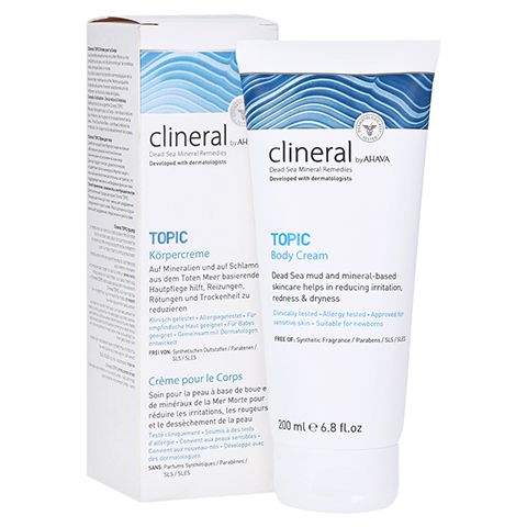 CLINERAL TOPIC Body Cream 200 Milliliter