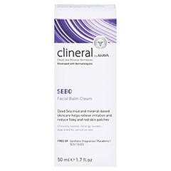 CLINERAL SEBO Facial Balm Cream 50 Milliliter - Rückseite