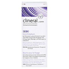 CLINERAL SEBO Facial Balm Cream 50 Milliliter - Vorderseite