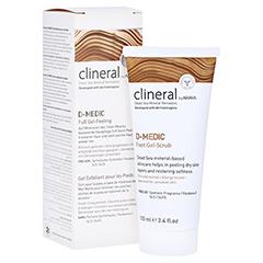 CLINERAL D-MEDIC Foot Gel-Scrub 100 Milliliter