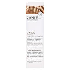 CLINERAL D-MEDIC Foot Cream 125 Milliliter - Vorderseite