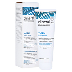 CLINERAL X-ZEM Hand Cream 125 Milliliter