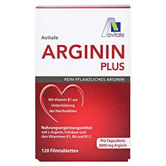 Avitale Arginin Plus 120 Stück - Vorderseite