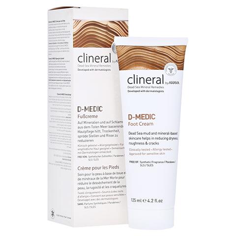 CLINERAL D-MEDIC Foot Cream 125 Milliliter