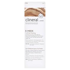 CLINERAL D-MEDIC Foot Gel-Scrub 100 Milliliter - Vorderseite