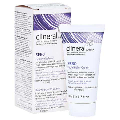 CLINERAL SEBO Facial Balm Cream 50 Milliliter
