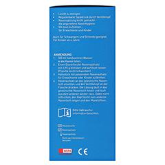 WEPA Nasendusche mit 10x2,95 g Nasenspülsalz 1 Packung - Linke Seite