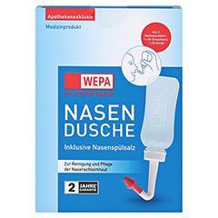 WEPA Nasendusche mit 10x2,95 g Nasenspülsalz 1 Packung - Vorderseite