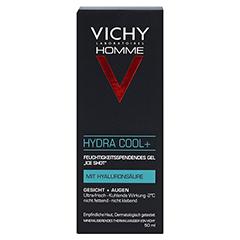 Vichy Homme Hydra Cool+ Gesichtspflege 50 Milliliter - Vorderseite