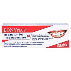 BONYPLUS Zahnprothesen Reparatur Set 1 Packung - Vorderseite