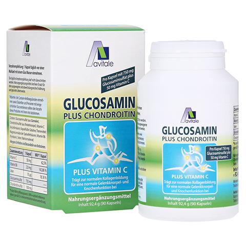 Avitale Glucosamin 750 mg + Chondroitin 100 mg 90 Stück