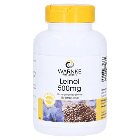 LEINÖL 500 mg Kapseln 250 Stück